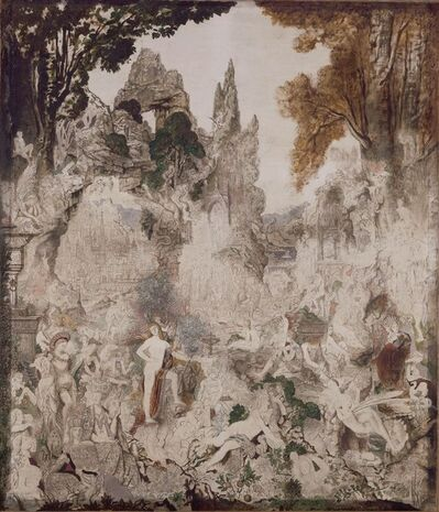 Gustave Moreau, 'Les Chimères (The Chimaeras)', 1884