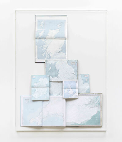 Tania Kovats, 'Only Blue (British Isles)', 2014