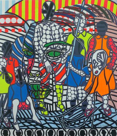 Boris Nzebo, 'Les marabouts', 2019