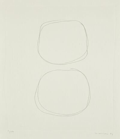 Gotthard Graubner, 'Ohne Titel', 1971