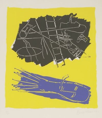 Bruce McLean, 'Pipe Dream (Yellow Background) (C.43)', 1984