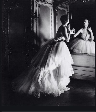 Louise Dahl-Wolfe, 'Ballgown by Dior', 1950