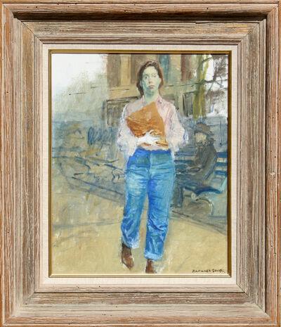 Raphael Soyer, 'Woman on Street', ca. 1960