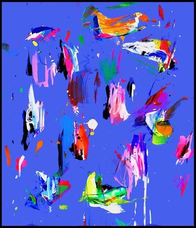 Santiago Picatoste, 'ATLAS Ultramarin Blue', 2019
