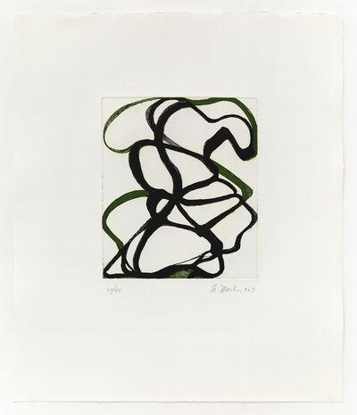 Brice Marden, 'The Fungoid Rock', 1996-97