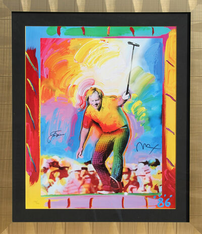 Peter Max, 'Jack Nicklaus', 1986