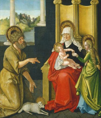 Hans Baldung, 'Saint Anne with the Christ Child, the Virgin, and Saint John the Baptist', ca. 1511