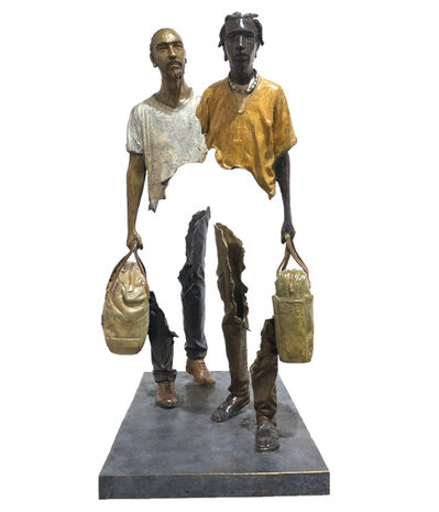 Bruno Catalano, 'Pierre David & J'arrive', 2020