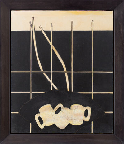 Prunella Clough, 'Still Life with Mugs', 1988