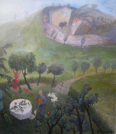 Liza Zabarsky, 'In The Garden, 2019', 2019