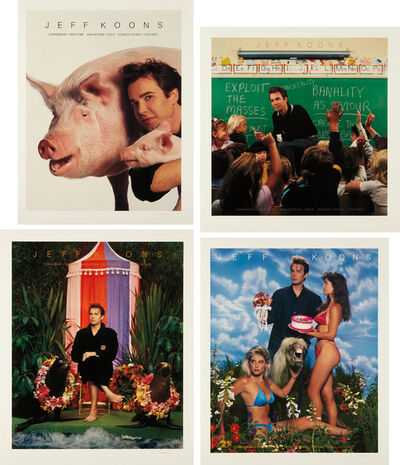 Jeff Koons, 'Art Magazine Ads (Flashart, Art in America, Artforum, Arts)', 1988