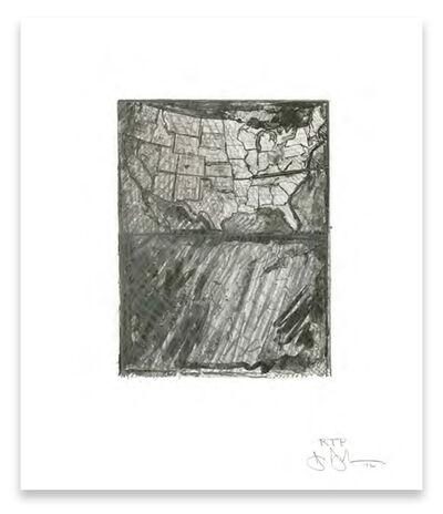 Jasper Johns, 'Map', 2012