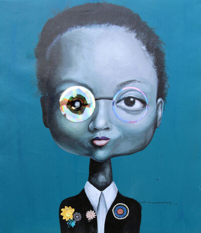 Ndidi Emefiele, 'Rainbow Brigades III', 2015