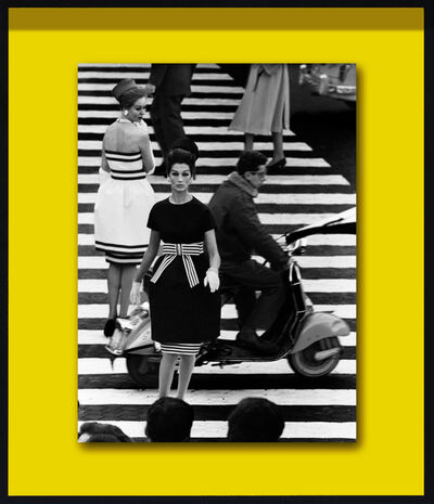 William Klein, 'Nina & Simone, Piazza di Spagna, Roma (for Vogue)', 1961