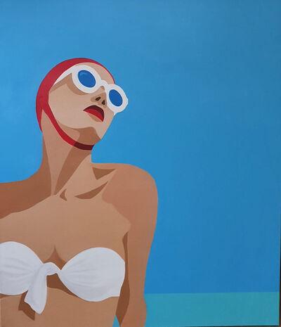 Noa Havatzelet, 'Sunny days - figurative painting', 2020