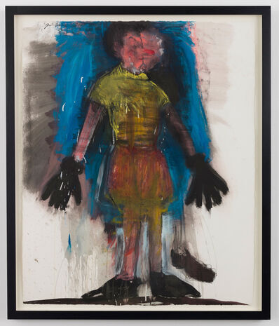 Jim Dine, 'Yellow Shirt, Red Nose', 2011