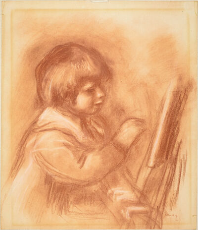 "Pierre-Auguste Renoir, 'The Artist's Son Claude or ""Coco""', ca. 1906"