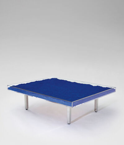Yves Klein, 'Table Bleue'