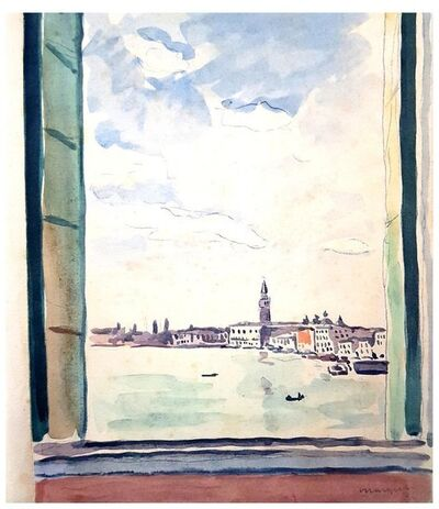 "Albert Marquet, 'Original Portfolio with 31 Engravings ""Venice Journey"" by Albert Marquet', 1947"