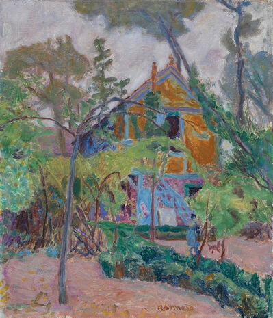 "Pierre Bonnard, 'House amoung the Trees (""My Caravan"" at Vernonnet)', ca. 1918"
