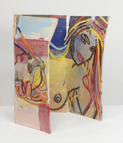 Ghada Amer, 'Paysage avec Odalisque', 2017