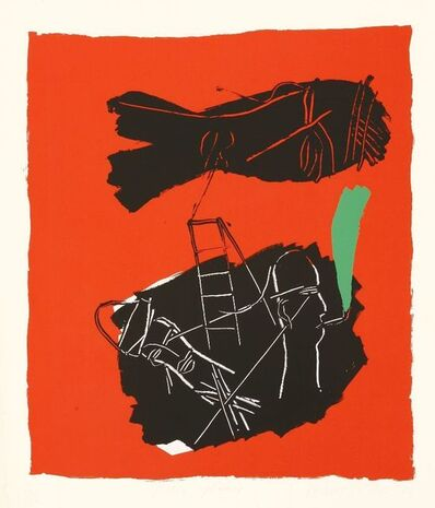Bruce McLean, 'Pipe Of Peace (Red)', 1984