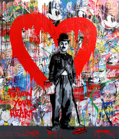 Mr. Brainwash, 'Chaplin, 2017', 2017