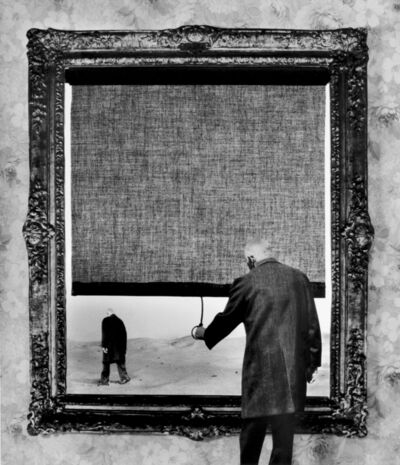 Gilbert Garcin, '121 – Fin – The end', 1999