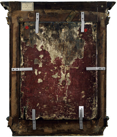Philippe Gronon, 'Verso n°46, Le Christ enfant en Salvador Mundi, par Biagio di Antonio Tucci, collection du musée Magnin de Dijon', 2009/2012