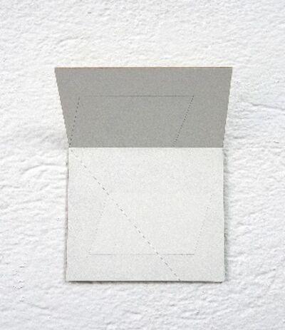 Jong Oh, 'Folding drawing #5', 2017