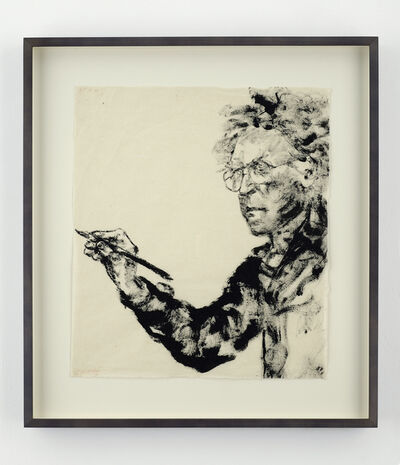 Avigdor Arikha, 'Self-portrait (Drawing)', 1991