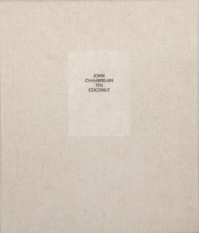 John Chamberlain, 'Ten Coconut', 1982