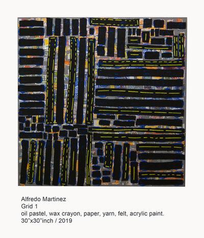 Alfredo Martinez, 'Grid 1 ', 2019