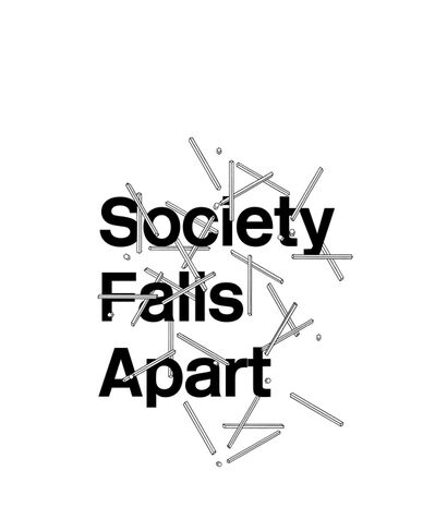 Gavin Wade, 'Est.1690 #3 'Society Falls Apart' ', 2015