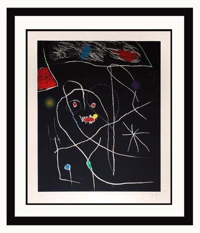 Joan Miró, 'El Pi de Formentor (Black)', 1976