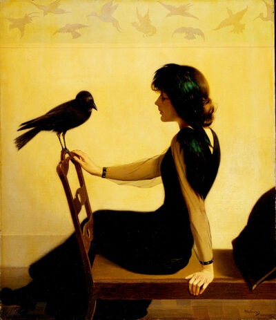 Harry Willson Watrous, 'The Chatterers', 1913