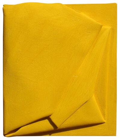 Cesare Berlingeri, 'Piccolo giallo piegato', 2008