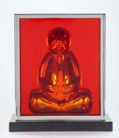 Mauro Perucchetti, '   Buddha- Slab Desk Top'