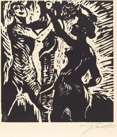 Lovis Corinth, 'Adam and Eve (Der Sündenfall)', 1919