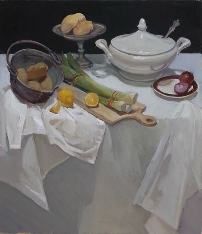 Maryann Lucas, 'Potato and Leek Soup', 2015