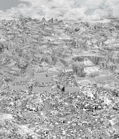 Dean Byington, 'Divided City ', 2015