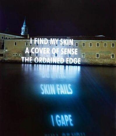 Jenny Holzer, 'Skin Falls', 2001