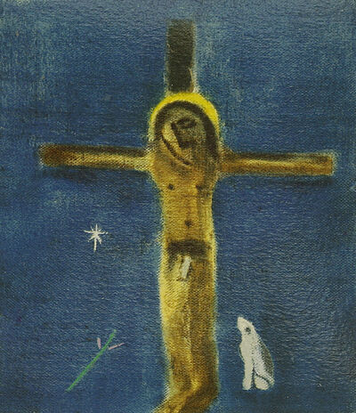 Craigie Aitchison, 'Crucifixion And Dog', 2005