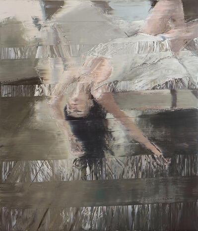 Andy Denzler, 'Woman on White Chaise Longue II', 2018