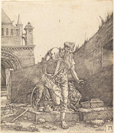 Albrecht Altdorfer, 'Saint Jerome in a Courtyard', ca. 1512/1515