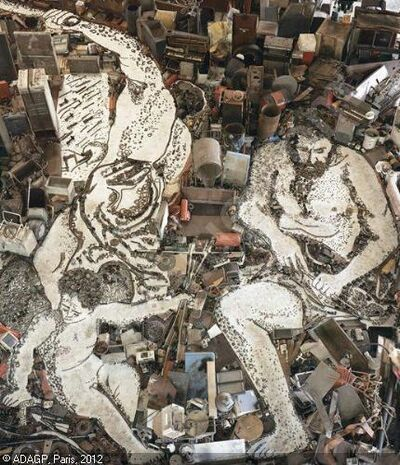 Vik Muniz, 'Vulcan Forges Cupid's Arrow, after Alessandro Tiarini', 2006