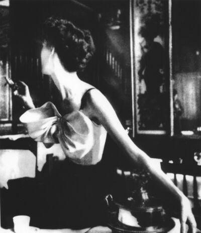 Lillian Bassman, 'Across the Restaurant at Le Grand Vefour, Barbara Mullen, Harper's Bazaar, Paris [Dress by Jacques Fath]', 1949