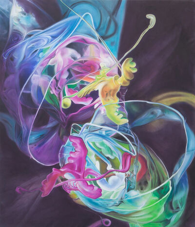 Dasha Kudinova, 'Blooming swirl', 2015