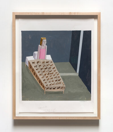Mernet Larsen, 'Sound In The Night (Study)', 2016