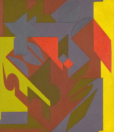 Victor Vasarely, 'Saluces', 1947